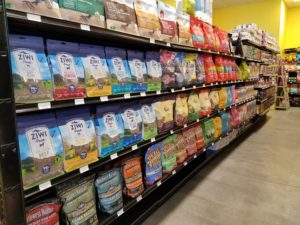 Pet Food Shelves