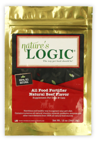 Nature's Logic multivitamin for pets