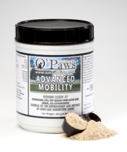 O'Paws Advanced Mobility supplements