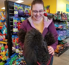 Rachel Traver, Healthy Happy Pets Associate