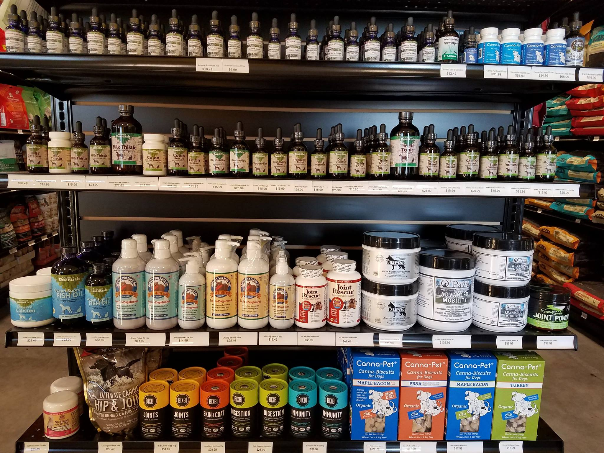 Natural pet supplement products